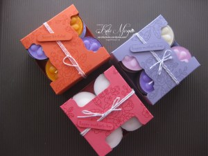 Tea Light Candle Gift Box