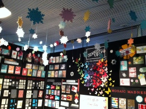 Stampin' Up! Stand at the Stitches & Craft Show, Caulfield Racecourse