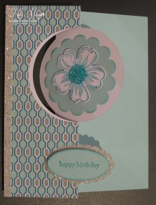 Circle Card Thinlits & Flower Shop