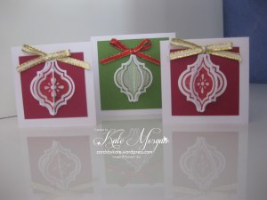 Mosaic Madness Christmas Gift Tags
