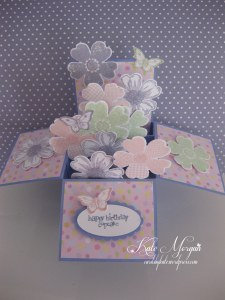 Flower Shop Explosion Box Card