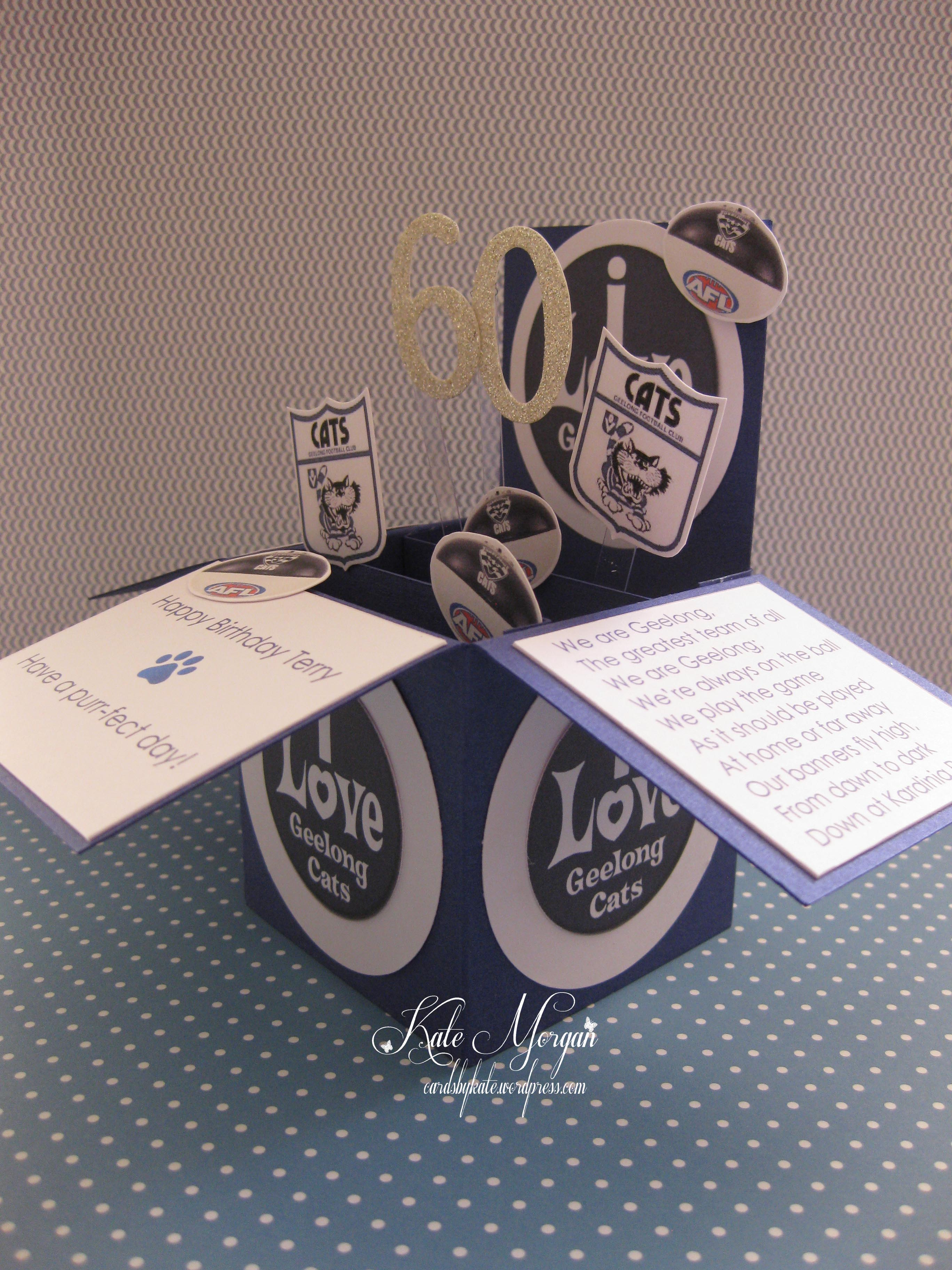Card In A Box AFL Geelong Cats