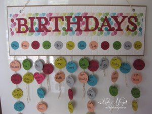 Birthdays Calendar