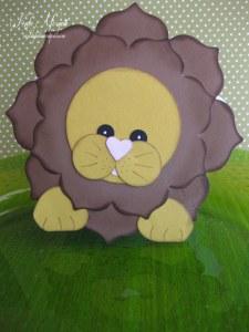 Floral Frames Lion