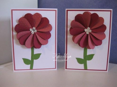 Flower Heart Pinwheel