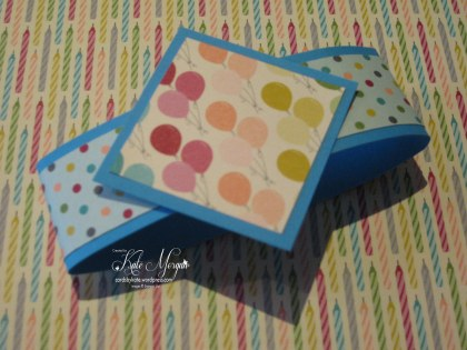 Napkin Fold Origami Handmade Card