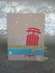 Watercolour Winter Simply Created Kit