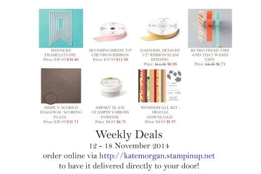 SU Weekly Deals