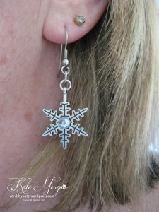 Al is Calm Snowflake Embellishment