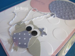 Stampin' Up! Owl Balloon