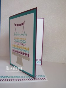 Build a Birthday Bohemian Borders Stampin' Up!