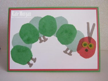 Layered Letters Hungry Caterpillar