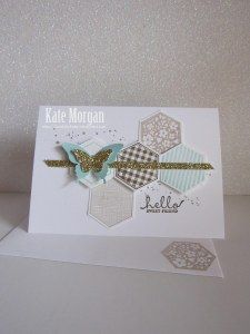 Hexagon Six Sided Sampler Stampin' Up!