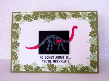 Stampin' Up! No Bones About It Dinosaurs