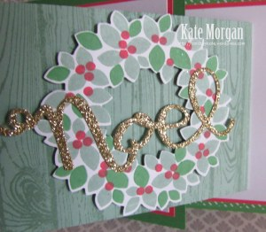 Wondrous Wreath Stampin Up