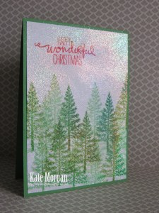 Festival of Trees Stampin Up