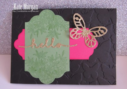 Butterflies #Stampin'Up!