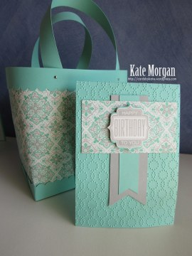 #stampinup Gift Bag & Cards