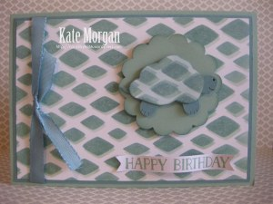Stampin Up Turtle Happy Patterns