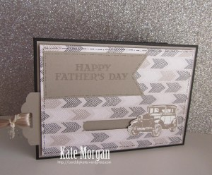 Father's Day Card #stampinup