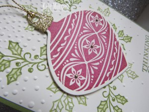 Embellished Ornaments #stampinup