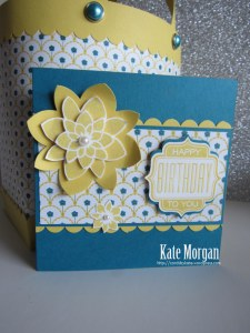 #stampinup crazy About You Birthday