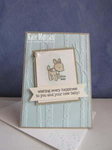 Made With Love Baby Boy #stampinup