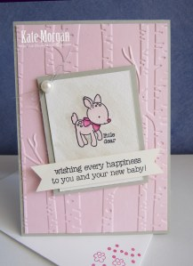 Made With Love Baby Girl #stampinup