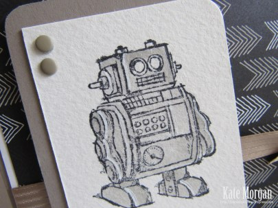 Robot Boys will be Boys #stampinup