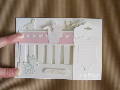 Baby Girl Card #stampinup