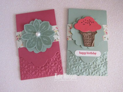 Gift Card Holder #stampinup
