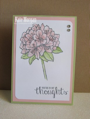 Best Thoughts Card #stampinup