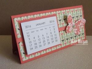Mini Tab Calendar 2 #stampinup