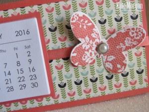 Mini Tab Calendar 3 #stampinup