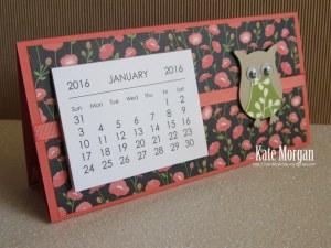 Mini Tab Calendar 4 #stampinup