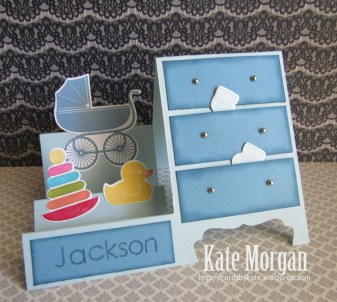 Something for Baby Side Step Card #stampinup