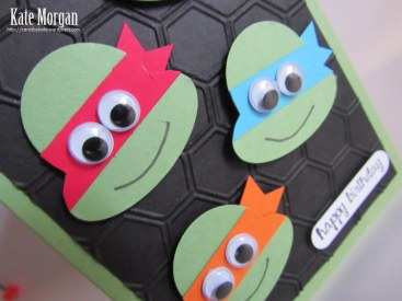 Ninja Turtles #stampinup