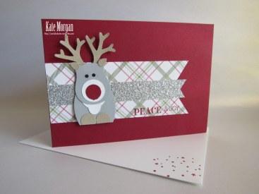 Rudolf Christmas #stampinup