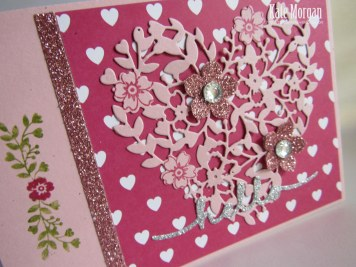 Bloomin Heart #stampinup
