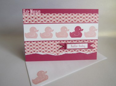 Love Blossoms DSP Something for Baby #stampinup