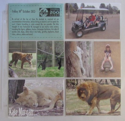 Taronga Zoo Dubbo #stampinup