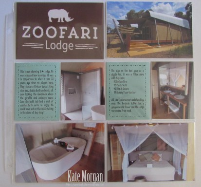 Zoofari Lodge #stampinup