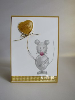 Mouse Balloon Builders #stampinup