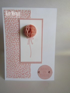 Love Blossoms Honeycomb Balloon #stampinup
