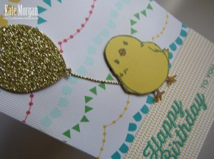 Honeycomb Happiness chick #stampinup