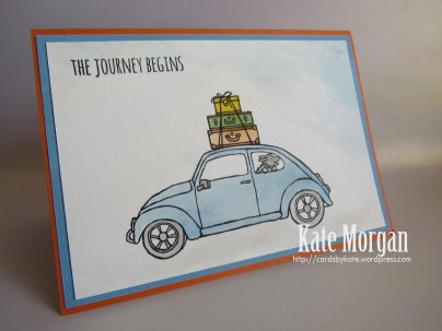 Beautiful Ride VW Bug #stampinup