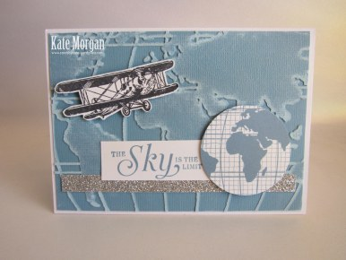 Sky is the Limit #stampinup