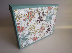 Card Box Wildflower Fields DSP #stampinup