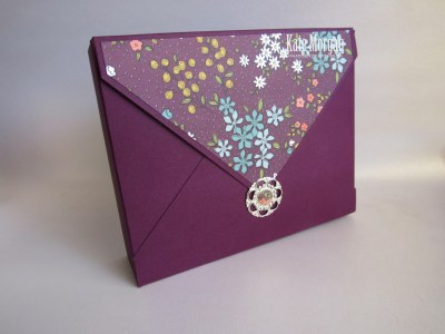 Card Envelope Project Wildflower Fields DSP #stampinup