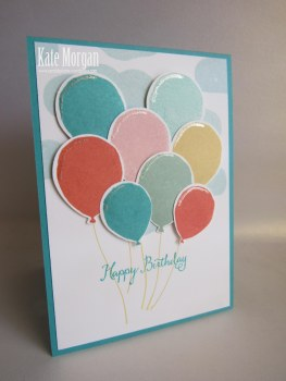Birthday Celebration Balloon Bouquet #stampinup